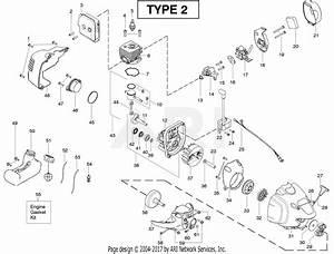 Poulan Pp125 Gas Trimmer Type 2  125