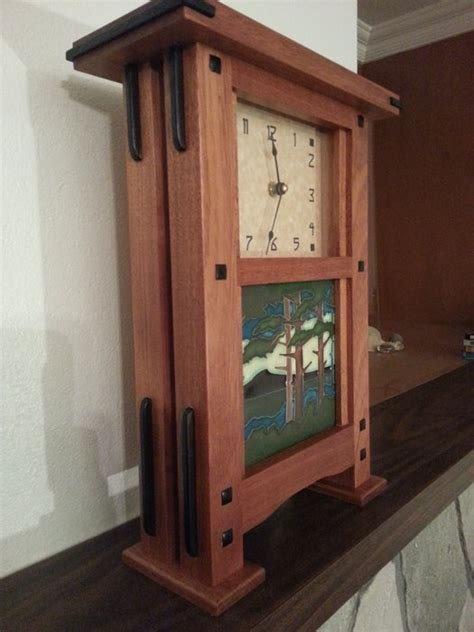 pair  greene  greene style clocks  godofbiscuits