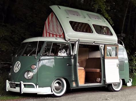 'one Of Three' Classic Vw Camper Van Sold