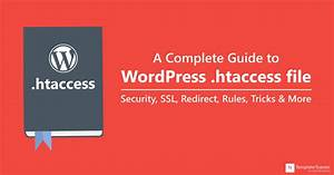 wp template redirect - a complete guide to wordpress htaccess file security