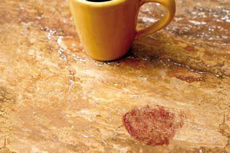 how to remove spots from kitchen countertops