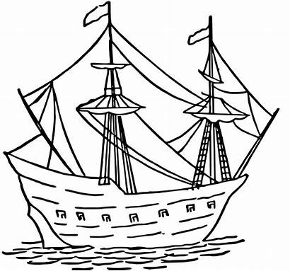 Caravel Simple Clipart