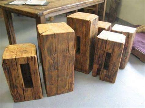 Buy a Custom Made Reclaimed Barn Beam Side Table, made to