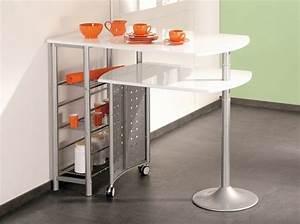 Table Bar Cuisine : 12 tables de bar pour tous les go ts elle d coration ~ Teatrodelosmanantiales.com Idées de Décoration