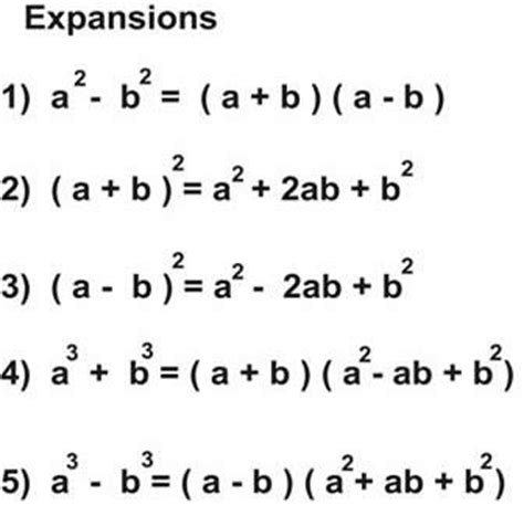 for basic expansion of algebraic expressions solved
