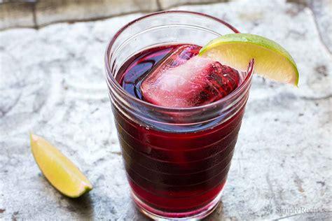 jamaica drink agua de jamaica hibiscus tea recipe simplyrecipes com