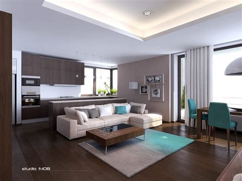 modern apartment living interior design ideas