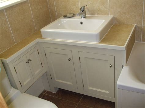 L Shaped Bathroom Vanity Unit by Vanity Units Gallery Thorne Woodworking