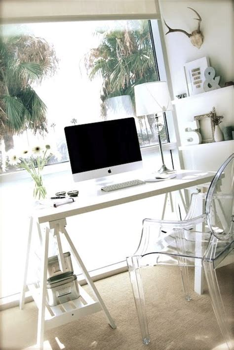 le de bureau kartell sawhorse desk contemporary den library office