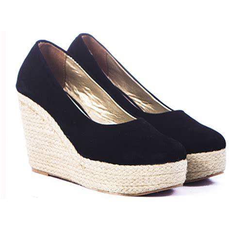 Sepatu Kerja Wanita Merk Everbest sepatu wedges wanita sepatu formal wedges sepatu kerja