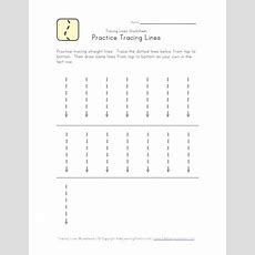 Tracing Vertical Lines #education #printable #worksheet  Printables  Pinterest Printable