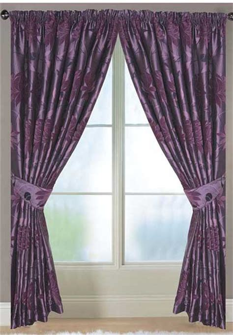 corsica lined aubergine curtains harry corry limited