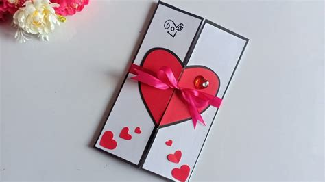 Beautiful Handmade Valentine's Day Card Idea / DIY ...