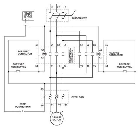 Phase Motor Control Circuit Diagram Zen Wiring