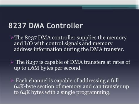 Dma And Dma Controller 8237