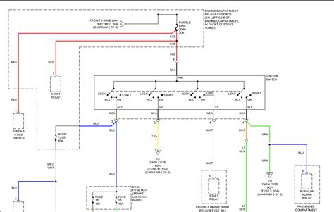 wiring diagram for hyundai accent i need a wiring diagram in order to identify the wires at the ignition switch due to a removed