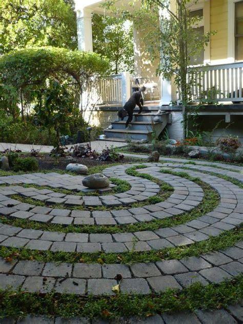Backyard Labyrinth by Labyrinth Guerrilla Labyrinths Labyrinths In