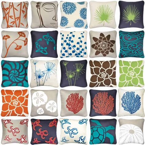 artistic human decorative pillow floral decorative pillows