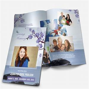 Floral 8 funeral pamphlets for Funeral pamphlets templates free