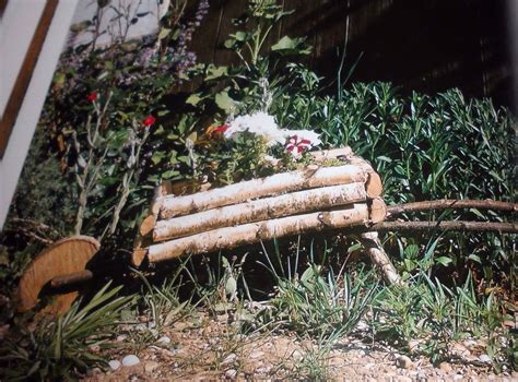 Gartendeko Blech gartendeko aus holz selber machen gartendeko selber