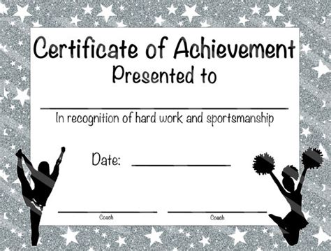 sample basketball certificate templates