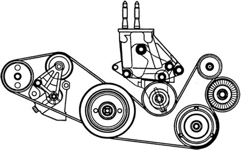 Mercede 98 C280 Serpentine Belt Diagram by Repair Guides Engine Mechanical Components Accessory