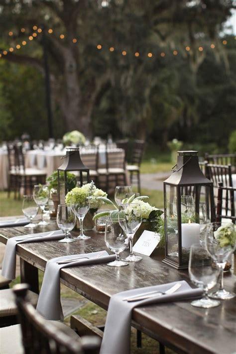 Rustic Outdoor Wedding Reception Wedding Decorations