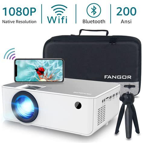 FANGOR Native 1080P Projector Full HD Movie Projector