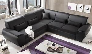 Kunstleder Couch Schwarz : antara ecksofa mit schlaffunktion couch schlafsofa sofa kunstleder schwarz kaufen bei ~ Watch28wear.com Haus und Dekorationen