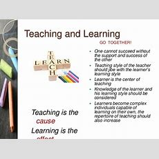 The Teaching Learning Process Intro, Phases, Definitions