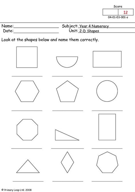 2d shapes primaryleap co uk