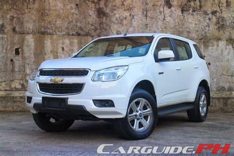 Review 2014 Chevrolet Trailblazer Ltx  Philippine Car