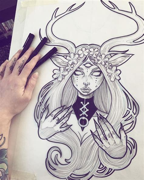 839 Best Tattoo Sketches Images On Pinterest Tattoo