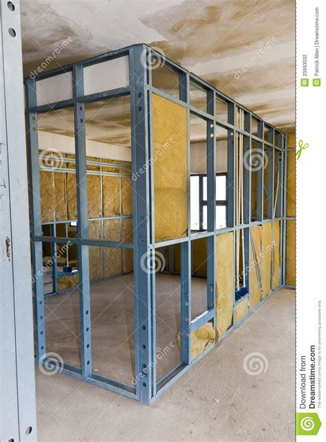 Construction Site   Drywall Stock Photo   Image: 23993032