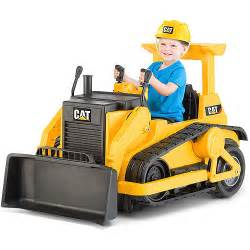 cat power wheels kid trax cat bulldozer 12 volt battery powered ride on