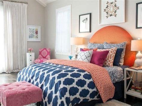 blue orange color scheme for master bedroom stylish patina