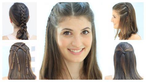 Peinados fáciles para cabello corto y media melena