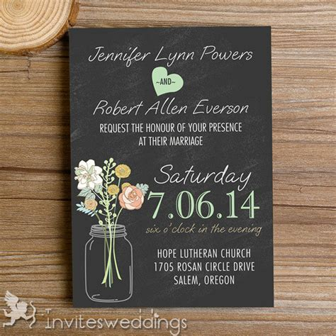Rustic Mason Jars Chalkboard Wedding Invitations Iwi335. Wedding Invitation Hotel Insert Template. Cloud Powerpoint Template. Party Invites Free Templates. Weight Loss Goals Sheet Template. Why You Want To Be A Police Officer Template. Utvolsfootball. Examples Of Skills To List On A Resume. Patient Tracking Template