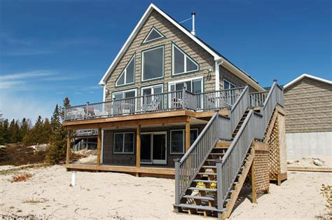 Lake Michigan Beachfront Vacation Homes