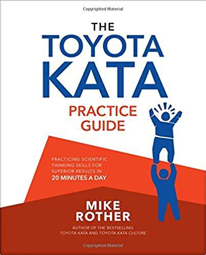 toyota kata practice guide kk books