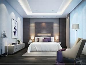 Contemporary, Bedroom, Interior, Design, On, Behance