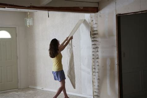 prep walls  shellac  hanging wallpaper