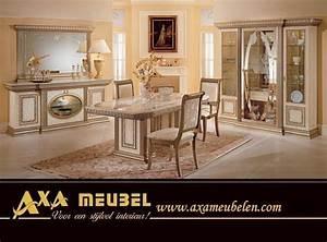 Italienische Möbel Esszimmer : barock italien klassik nu baum hochglanz vip stilm bel axa ~ Lateststills.com Haus und Dekorationen