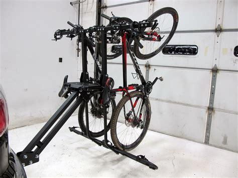 softride bike rack ram 2500 softride hang5 5 bike rack for 2 quot hitches tilting