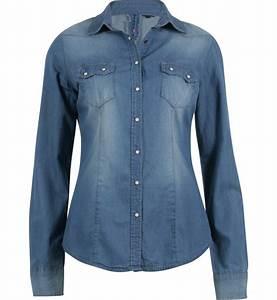 chemise en jean bleu ciel chemises et tuniques jennyfer With robe chemise bleu ciel