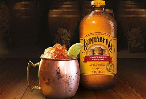 cocktail trendrezept moscow mule mit bundaberg ginger
