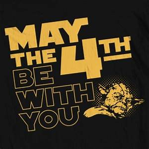 """Men's Star Wars """"May the 4th"""" Tee aftcra"""