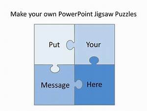 Free Editable Jigsaw Pieces Powerpoint Template