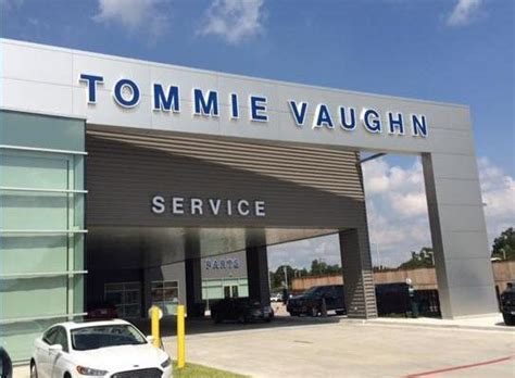 Tommie Vaughn Ford car dealership in HOUSTON, TX 77008