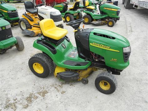 deere l110 42 deck lawn garden and commercial mowing deere machinefinder